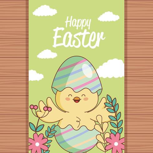 Buona carta del giorno di Pasqua