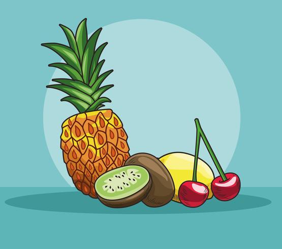 frutti disegnati a mano