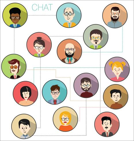 Brainstorming business concept modern design infographic