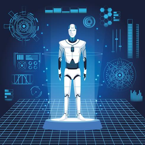 avatar do robô humanóide