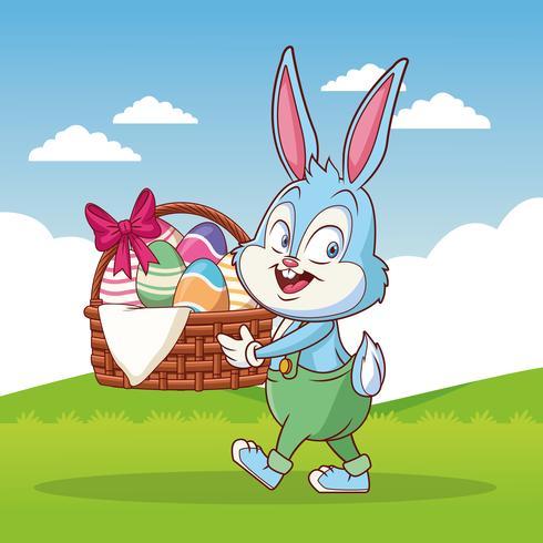 Frohe Ostern Cartoon