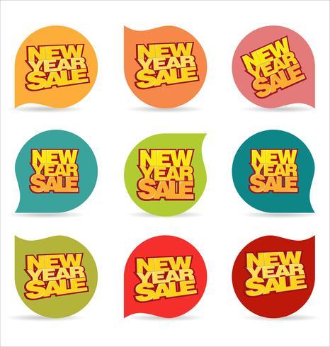 Nieuwjaar verkoop achtergrond
