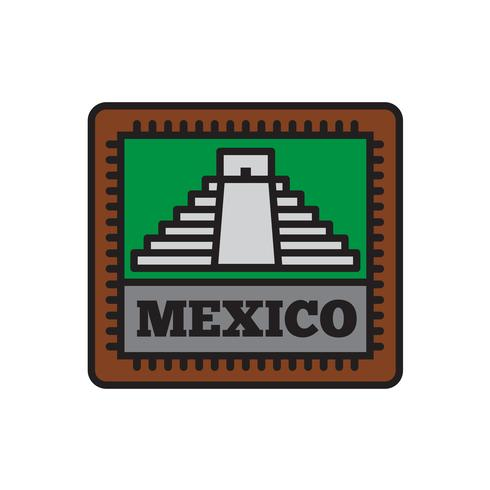 Country Badge Collections, Mexico Symbol of Big Country