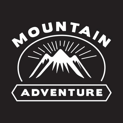 Adventure Logo and Badge, good for print vector