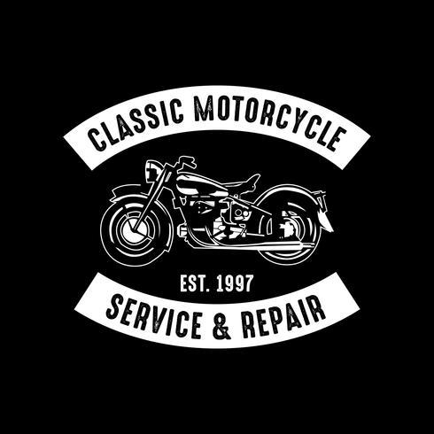 Insigne de moto et logo, bon pour l'impression