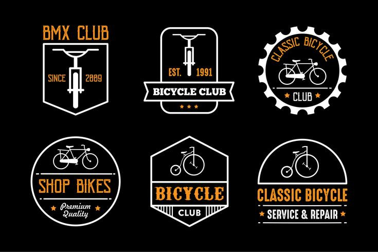 Bicycle Badge and Logo, good for print