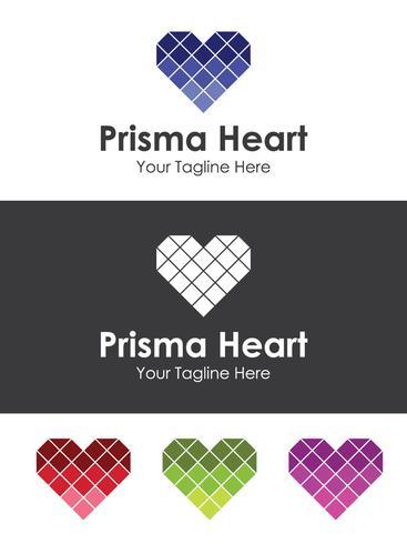 Glass Heart Love Logo, best for your branding