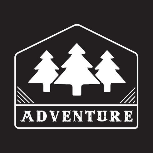 Logo e badge Adventure, ottimi per la stampa
