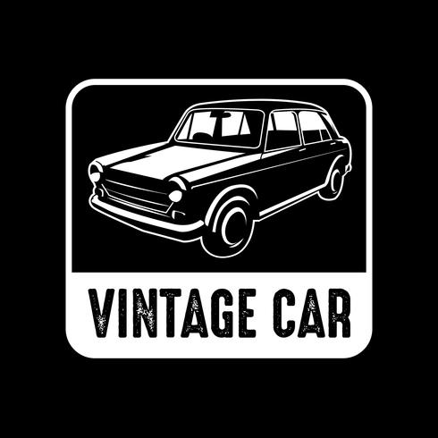 Autobadge en logo, goed voor afdrukken