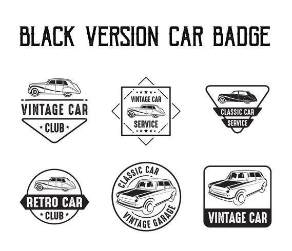 Auto abzeichen und logo, gut für druck vektor