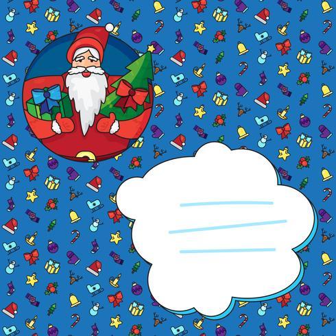 Navidad santa claus vector