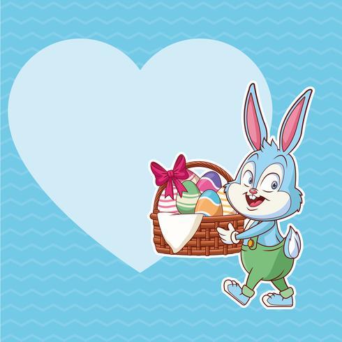 glad påsk affisch