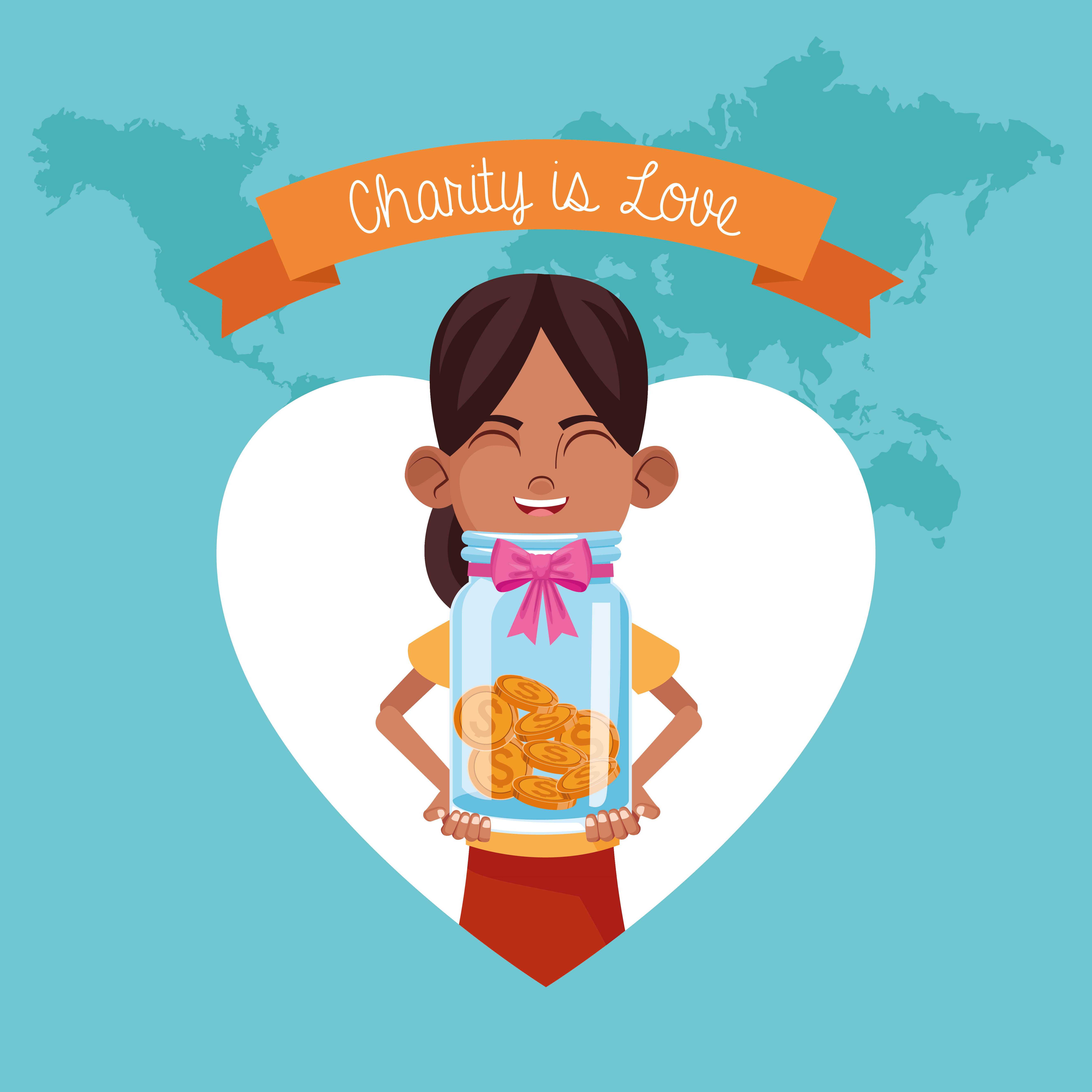 Kid Donation And Charity 657464 Vector Art At Vecteezy