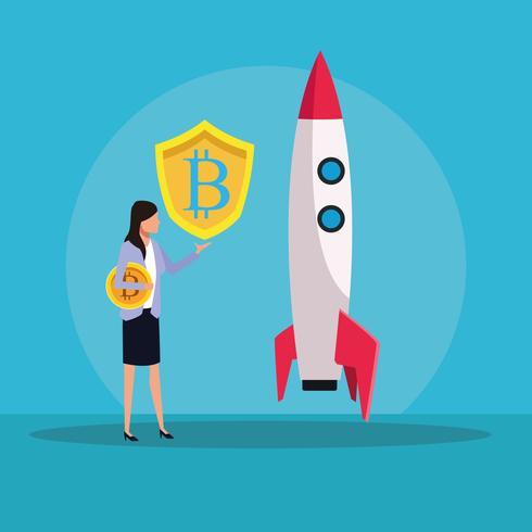 Tecnología de criptomoneda bitcoin