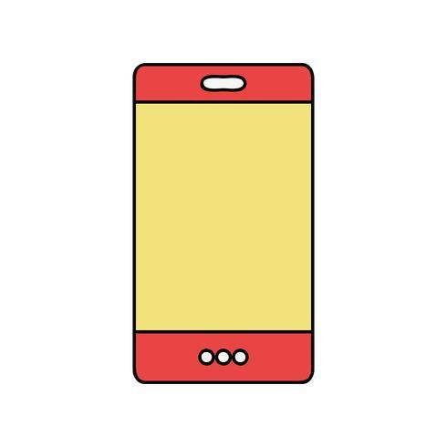 tecnologia smartphone a colori per chiamare e parlare