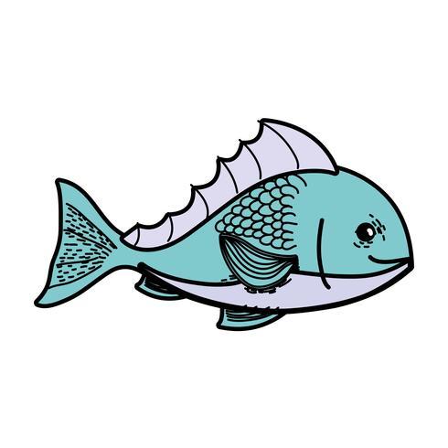 heerlijke zeevruchtenvis met natuurlijke voeding