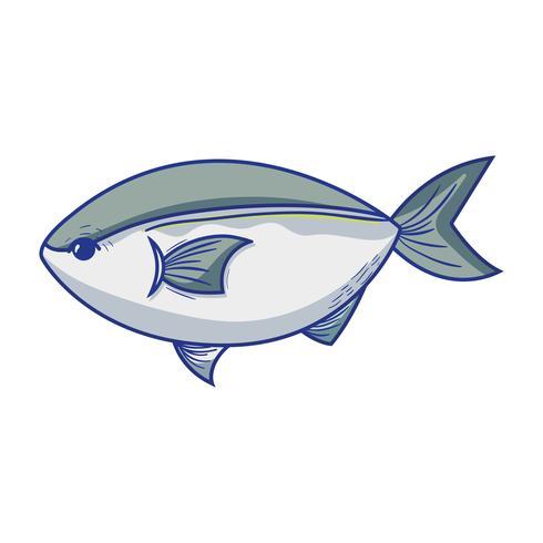 köstliche Meeresfrüchte Fisch mit natürlicher Ernährung