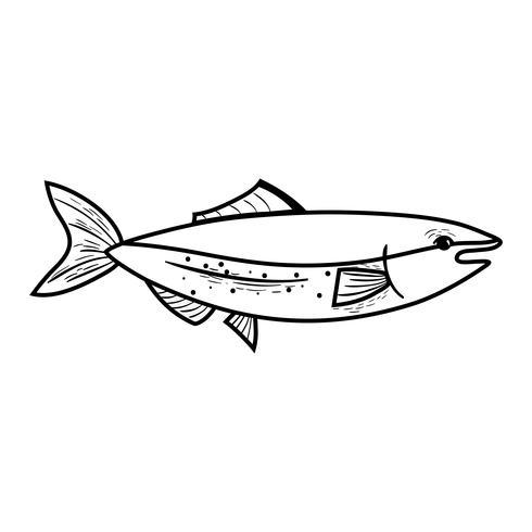 alinhar deliciosos peixes de frutos do mar com nutrição natural