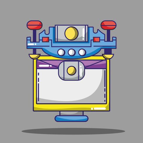 Design von Patches für Computer- und Drohnen-Technologie