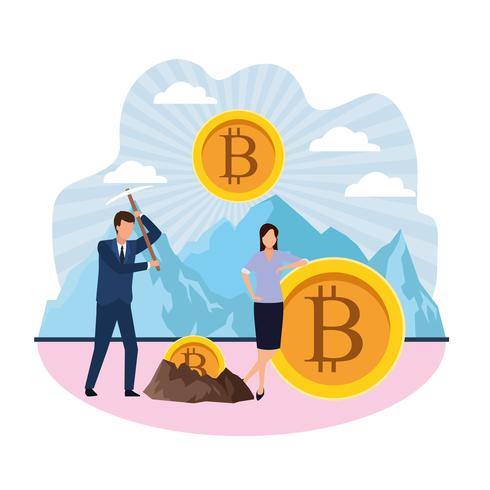Digital Mining Bitcoin