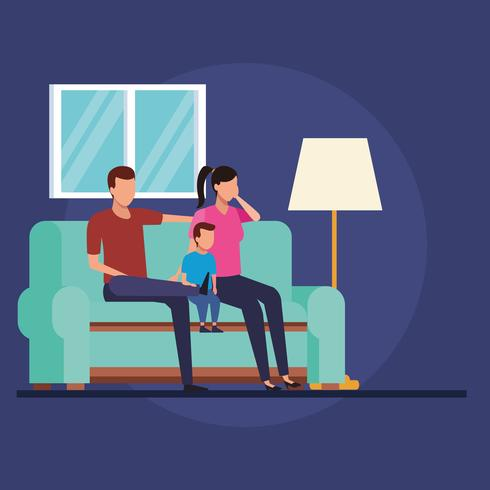 routines at home vector