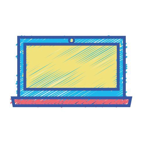 färg bärbar datorskärm elektronisk teknik