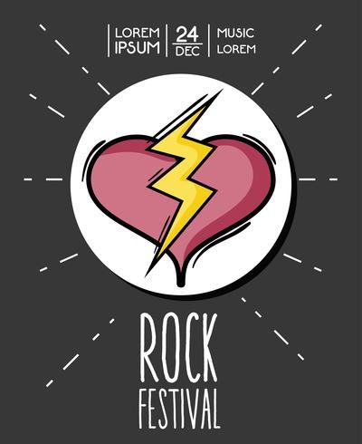 festival de rock événement concert de musique