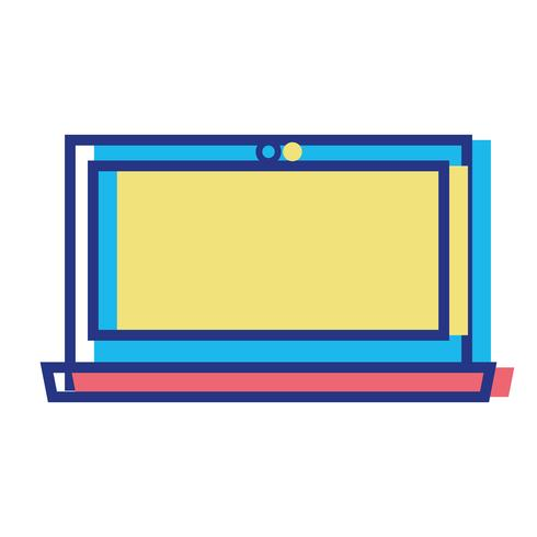 tecnologia elettronica schermo portatile a colori