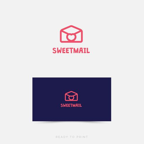 Logo Corporativo SweetMail Diseño Simple