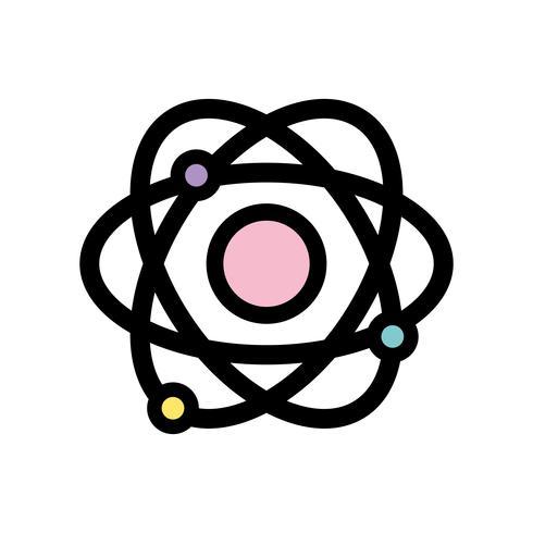 Física órbita átomo educación química