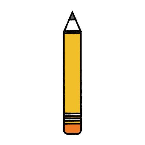 Bleistift Schulwerkzeug Objektdesign