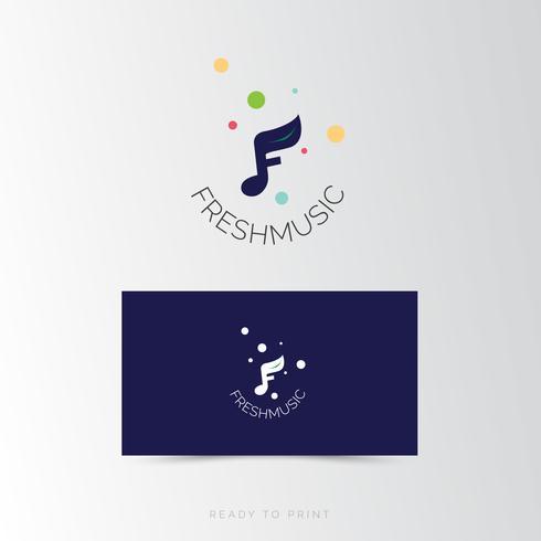 Logo Design Corporativo Fresh Music simples
