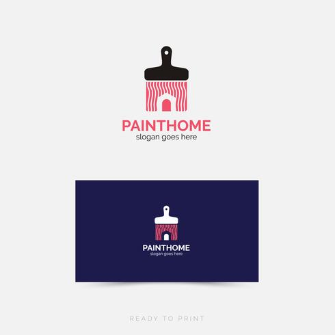 Logo Corporate PaintHome einfaches Design