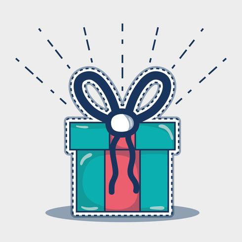 Dekorationsdesign der frohen Weihnachten zur Feier