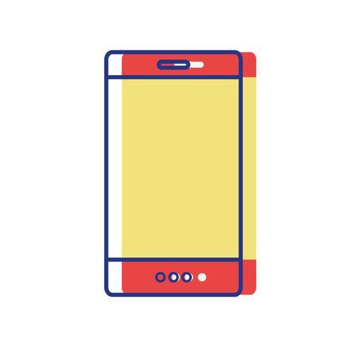 tecnologia de smartphone colorido para ligar e conversar