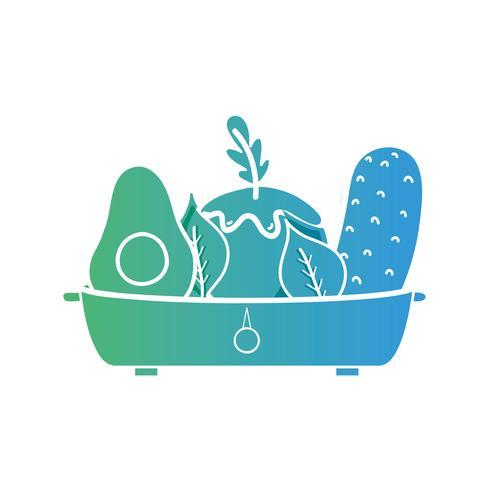 linje vegetabiliska näringsämnen