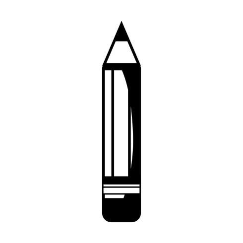 contour pencil school tool object design