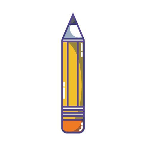 conception d'objet outil d'école de crayon