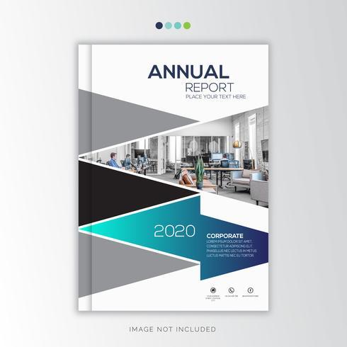 Rapport annuel Corporate Design créatif