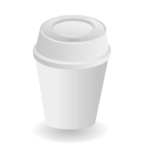 vector de taza de cafe