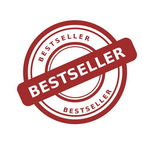 vettore di bollo bestseller