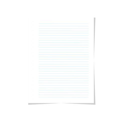 note papier papier vecteur
