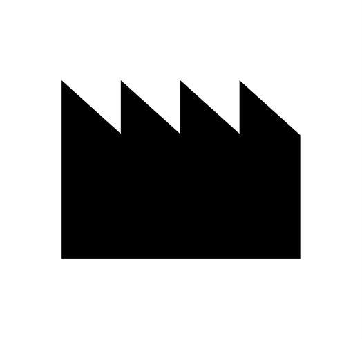 icono de fábrica negro