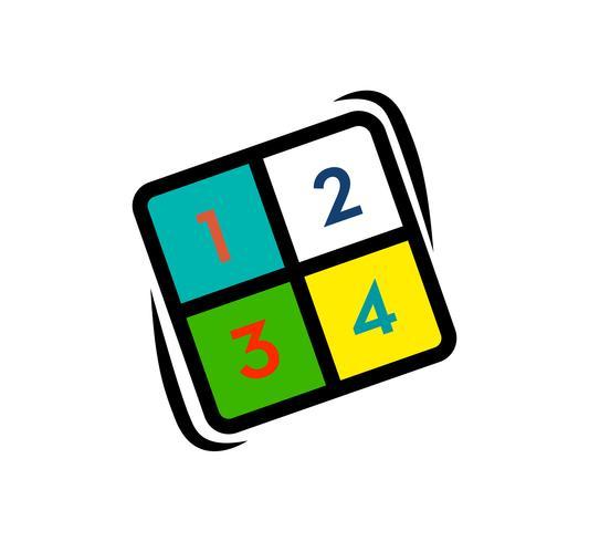 logo de numeros cube