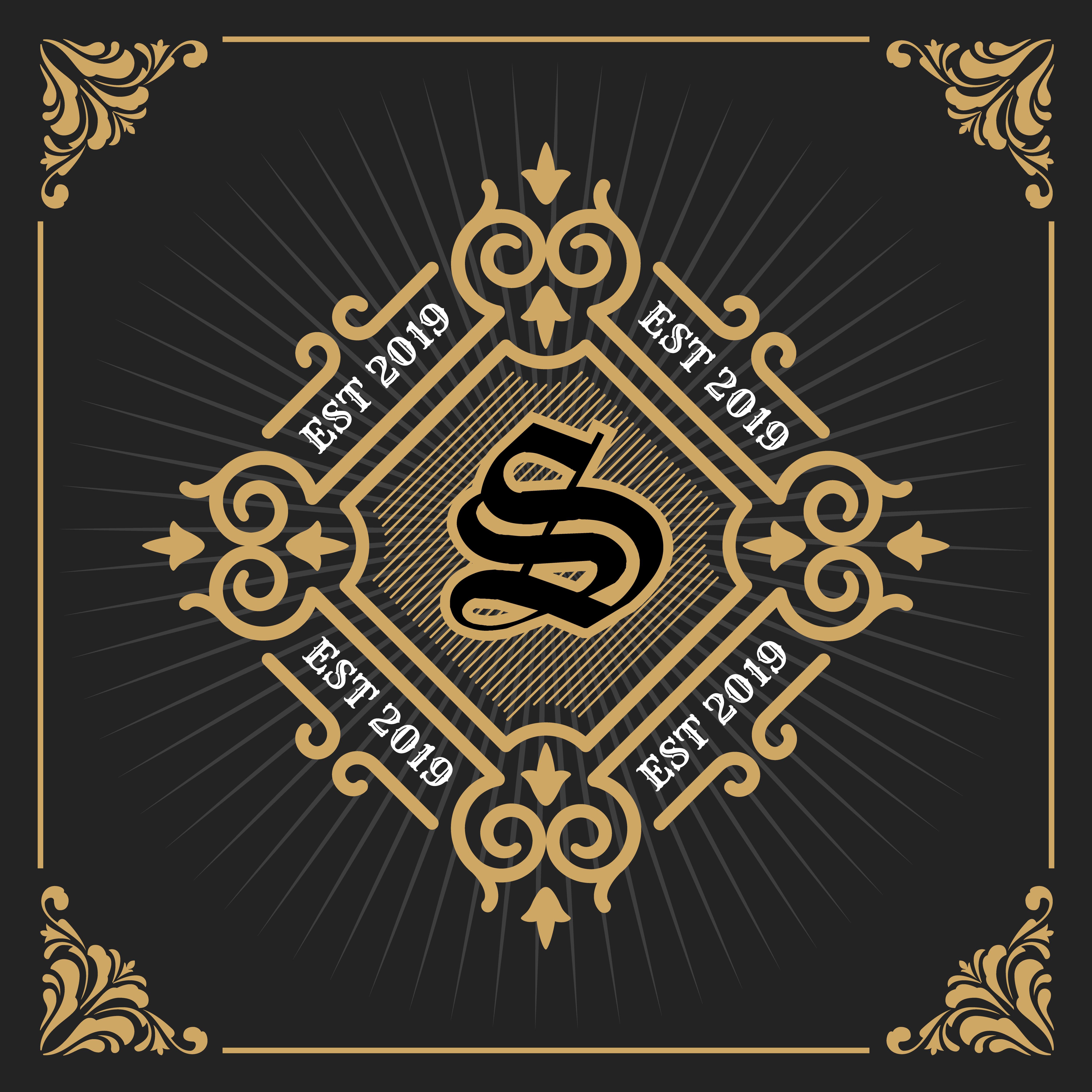 Vintage Luxury Banner Template Design For Label, Frame
