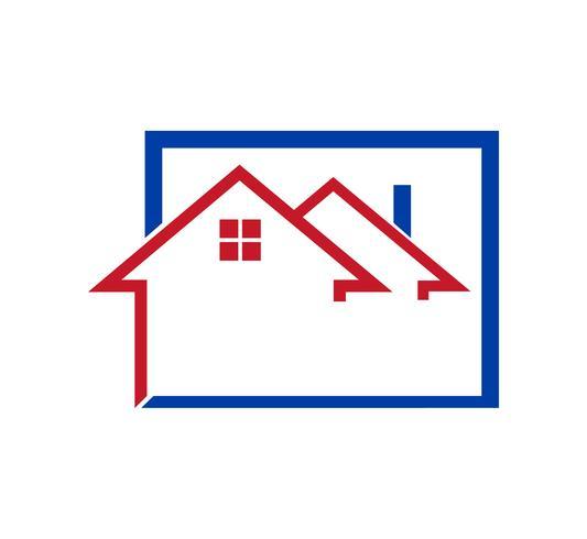 Logotipo de la casa en blanco