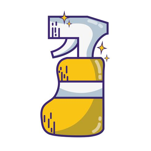 wasmiddel vloeibare plastic fles spray om huis schoon te maken