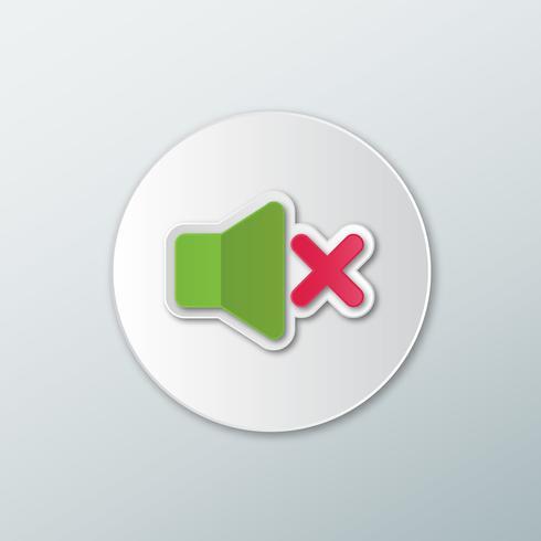 Icona verde disattivata
