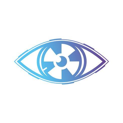 line virtual eye in het cyberspace reality-spel