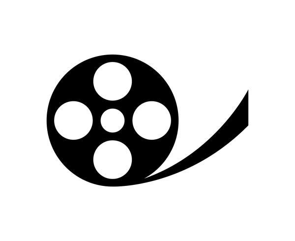 Película carrete de película en blanco